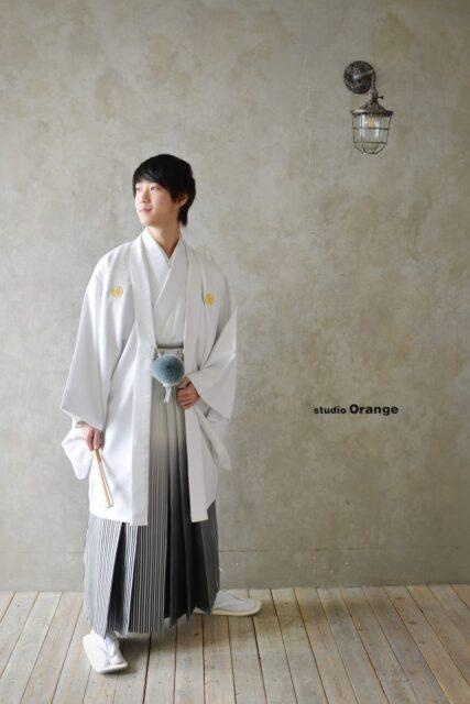 男性成人 成人式前撮り 奈良市