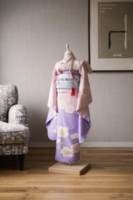 7歳女の子の七五三着物 奈良市のフォトスタジオ 七五三衣装レンタル