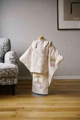 3歳女の子の七五三着物 奈良市のフォトスタジオ 七五三衣装レンタル