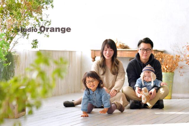 家族写真 奈良 フォトスタジオ